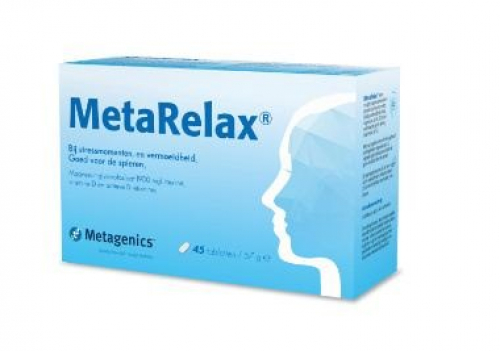 METARELAX magnesiumsupplement (45 tabletten)