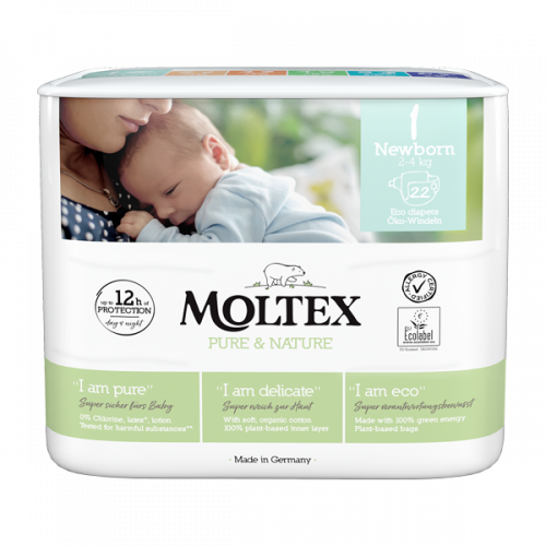 Moltex Pure & Nature Newborn (2-4kg)