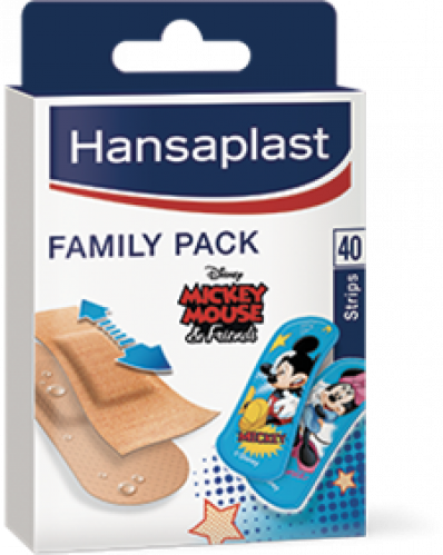 HANSAPLAST Family Pack Mickey and friends (40 stuks)