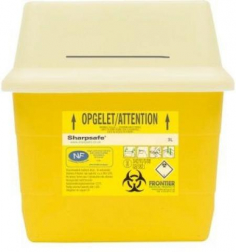 Naaldcontainer Sharpsafe (2l)