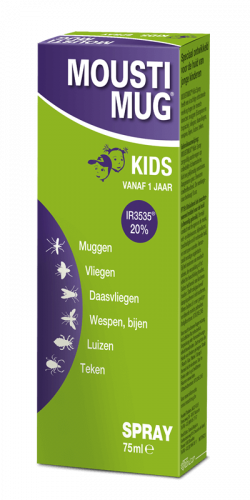 Moustimug Kids DEET 20% spray (75 ml)
