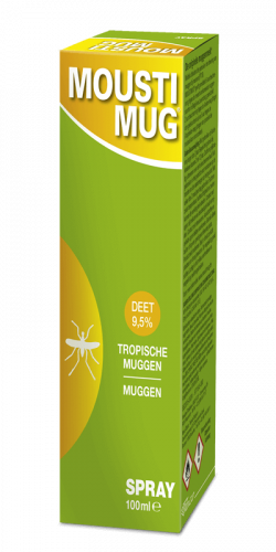 Moustimug DEET 9,5% spray (100 ml)