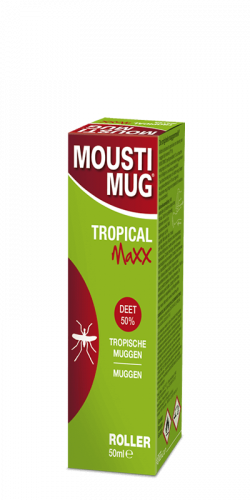 Moustimug Tropical Maxx DEET 50% roller (50 ml)