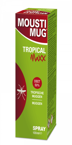 Moustimug Tropical Maxx DEET 50% spray (100 ml)