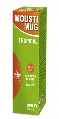 Moustimug Tropical DEET 30% spray (100 ml)