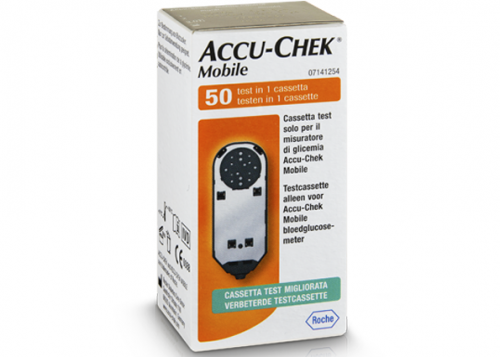 ACCU-CHEK Mobile testcassette (50 tests)