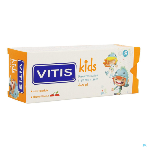 Vitis Kids Gel Tandpasta (50ml)