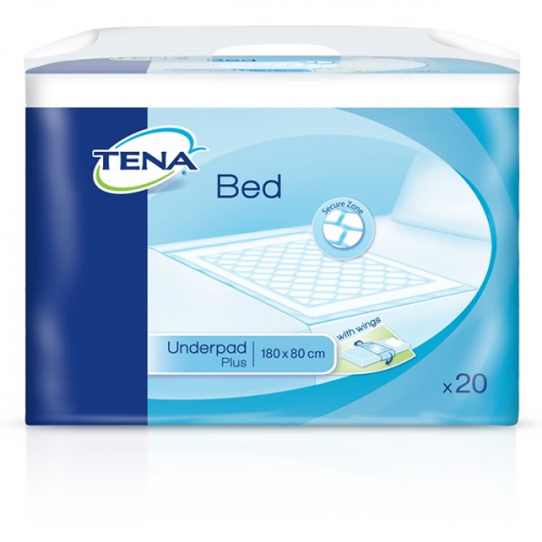 TENA Bed Plus Wings Onderlegger