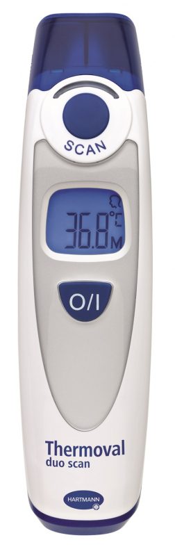 Oorthermometer Thermoval duo scan